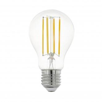 EGLO 11755 | E27 8W -> 75W Eglo normálne A60 LED svetelný zdroj filament 1055lm 2700K 320° CRI>80