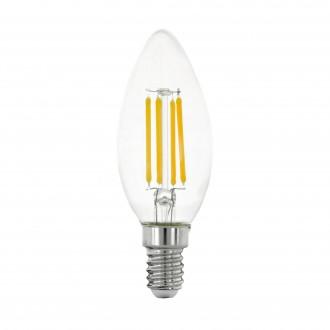 EGLO 11759 | E14 4W -> 40W Eglo sviečka C35 LED svetelný zdroj filament 470lm 2700K 320° CRI>80
