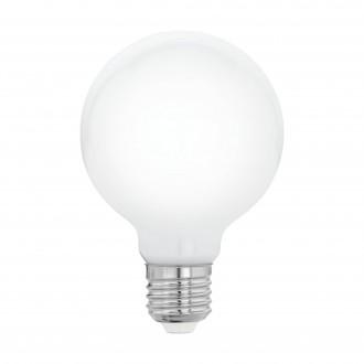 EGLO 11766 | E27 8W -> 75W Eglo veľká guľa G80 LED svetelný zdroj 320° 1055lm 2700K 320° CRI>80
