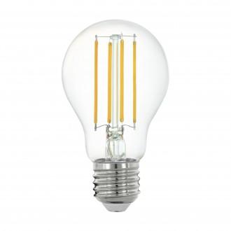 EGLO 11861 | E27 6W -> 60W Eglo normálne A60 LED svetelný zdroj filament múdre osvetlenie 806lm 2700K regulovateľná intenzita svetla, na diaľkové ovládanie CRI>80