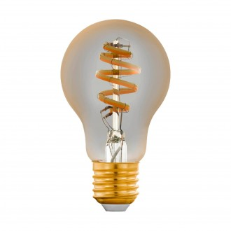 EGLO 12578 | E27 5,5W -> 35W Eglo normálne A60 LED svetelný zdroj CCT filament múdre osvetlenie 400lm 2200 <-> 6500K regulovateľná intenzita svetla, nastaviteľná farebná teplota, na diaľkové ovládanie CRI>80