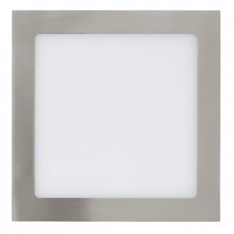 EGLO 31678 | Fueva-1 Eglo zabudovateľné LED panel štvorec 225x225mm 1x LED 2080lm 4000K matný nikel, biela