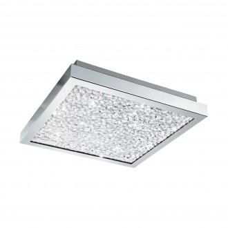 EGLO 32025 | Cardito Eglo stropné svietidlo 1x LED 1700lm 3000K chróm, priesvitná