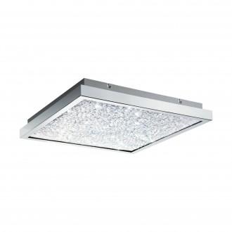 EGLO 32026 | Cardito Eglo stropné svietidlo 4x LED 3400lm 3000K chróm, priesvitná