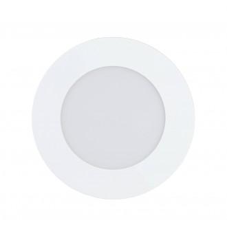 EGLO 32737 | EGLO-Connect-Fueva Eglo zabudovateľné múdre osvetlenie kruhový regulovateľná intenzita svetla, nastaviteľná farebná teplota, meniace farbu Ø120mm 1x LED 700lm 2700 <-> 6500K biela