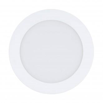 EGLO 32738 | EGLO-Connect-Fueva Eglo zabudovateľné múdre osvetlenie kruhový regulovateľná intenzita svetla, nastaviteľná farebná teplota, meniace farbu Ø170mm 1x LED 1200lm 2700 <-> 6500K biela