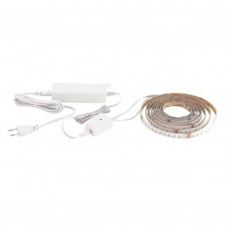 EGLO 32741 | Eglo-LS-Basic Eglo LED pásy RGB svietidlo meniace farbu 1x LED 1200lm 3000K biela