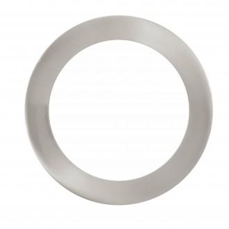EGLO 32754 | EGLO-Connect-Fueva Eglo zabudovateľné múdre osvetlenie kruhový regulovateľná intenzita svetla, nastaviteľná farebná teplota, meniace farbu Ø170mm 1x LED 1200lm 2700 <-> 6500K matný nikel, biela