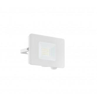 EGLO 33153 | Faedo Eglo svetlomet svietidlo - Samsung Chip štvorec otočné prvky 1x LED 1800lm 4000K IP65 biela, priesvitná