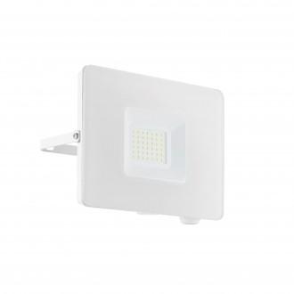 EGLO 33154 | Faedo Eglo svetlomet svietidlo - Samsung Chip štvorec otočné prvky 1x LED 2750lm 4000K IP65 biela, priesvitná