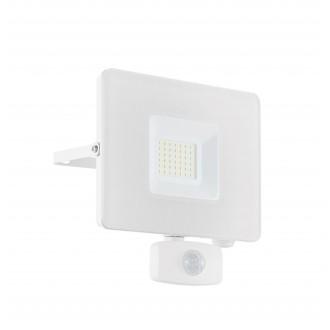 EGLO 33158 | Faedo Eglo svetlomet svietidlo - Samsung Chip pohybový senzor, svetelný senzor - súmrakový spínač otočné prvky 1x LED 2750lm 4000K IP44 biela, priesvitné