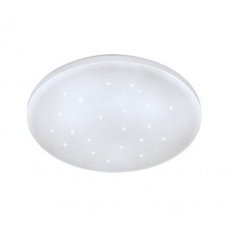 EGLO 33596 | Frania-S Eglo stenové, stropné svietidlo kruhový 1x LED 900lm 4000K biela, kryštálový efekt
