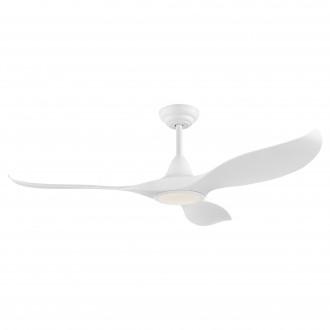 EGLO 35006 | Cirali-52 Eglo svietidlo s ventilátorom stropné diaľkový ovládač regulovateľná intenzita svetla, nastaviteľná farebná teplota, časový spínač 1x LED 2000lm 2700 <-> 6500K matný biely