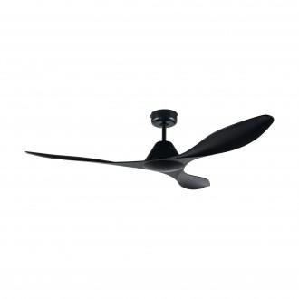 EGLO 35016 | Antibes-EG Eglo ventilátor stropné diaľkový ovládač časový spínač matná čierna