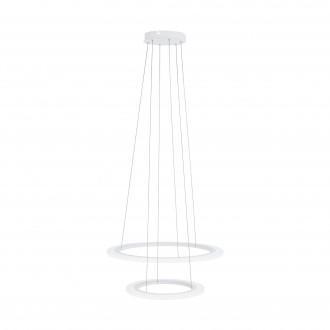 EGLO 39273 | Penaforte Eglo visiace svietidlo kruhový regulovateľná intenzita svetla 1x LED 2100lm + 1x LED 3600lm 3000K biela