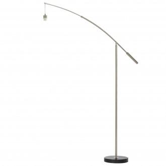 EGLO 39368 | Nadina-1 Eglo stojaté svietidlo - bez tienidla 195cm nožný vypínač otočné prvky 1x E27 matný nikel