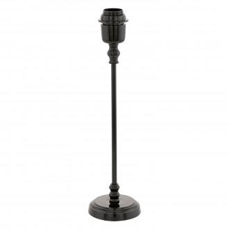EGLO 49194 | Margate Eglo stolové svietidlo 41cm prepínač 1x E27 čierna