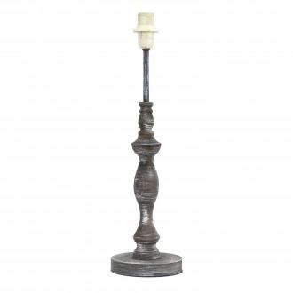 EGLO 49304 | Vintage-1+1 Eglo stolové svietidlo - bez tienidla 42cm prepínač na vedení 1x E14 antická sivá
