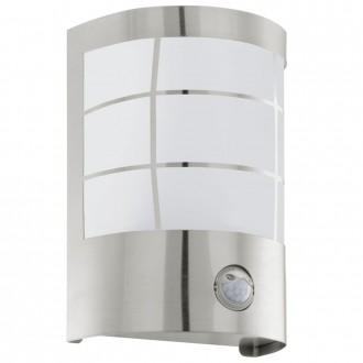 EGLO 75237 | Cerno1 Eglo stenové svietidlo pohybový senzor 1x E27 320lm 3000K IP44