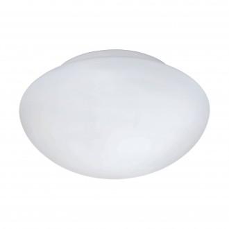 EGLO 81635 | Ella Eglo stenové, stropné svietidlo kruhový 1x E27 biela, matný opál