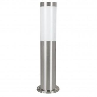 EGLO 81751 | Helsinki Eglo stojaté svietidlo 45cm 1x E27 IP44 zušľachtená oceľ, nehrdzavejúca oceľ, biela
