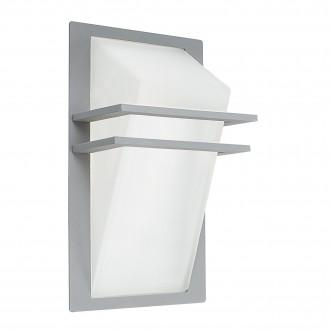 EGLO 83432 | Park Eglo stenové svietidlo 1x E27 IP44 strieborný, saténový