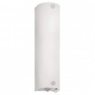 EGLO 85337 | Mono Eglo stenové svietidlo prepínač 1x E14 chróm, saténový