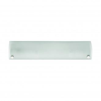 EGLO 85338 | Mono Eglo stenové svietidlo prepínač 2x E14 chróm, saténový