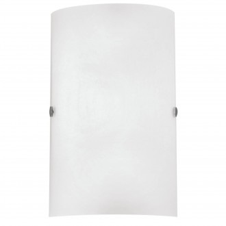EGLO 85979 | Troy3 Eglo stenové svietidlo 1x E14 matný nikel, biela, saténový