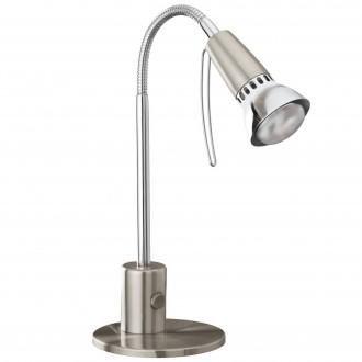 EGLO 86955   Fox1 Eglo stolové svietidlo 33cm prepínač flexibilné 1x E14 matný nikel, chróm