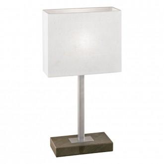 EGLO 87599 | Pueblo1 Eglo stolové svietidlo 48cm dotykový vypínač 1x E14 antické hnedé, biela