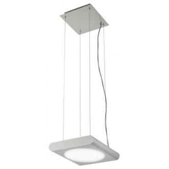 EGLO 88482 | Anais Eglo visiace svietidlo nastaviteľná výška 1x 2GX13 / T5 leštený hliník, biela