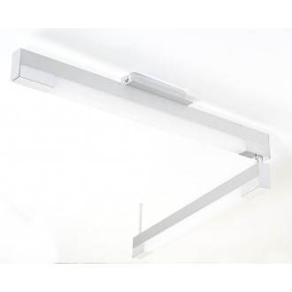 EGLO 89028 | Tramp2 Eglo stropné svietidlo 2x G5 / T5 leštený hliník, biela