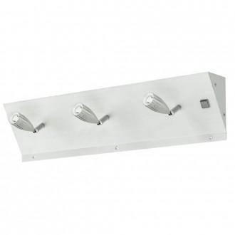 EGLO 89218 | Tricala Eglo stenové svietidlo prepínač 3x LED leštený hliník