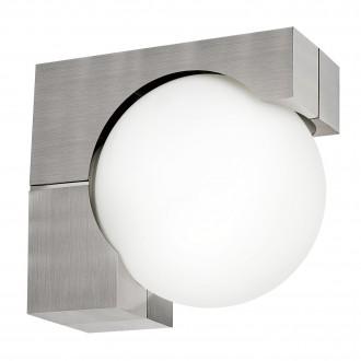 EGLO 89314 | Ohio Eglo stenové svietidlo 1x E27 IP54 zušľachtená oceľ, nehrdzavejúca oceľ, biela
