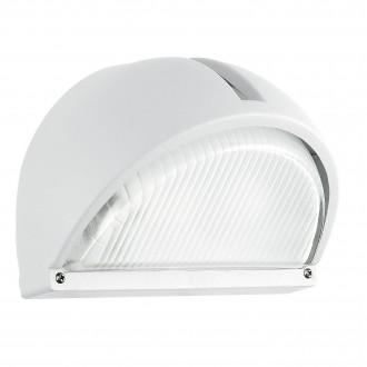 EGLO 89768 | Onja Eglo stenové svietidlo 1x E27 IP44 biela, priesvitné