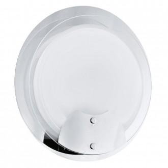 EGLO 90467 | Aniko Eglo stenové svietidlo 1x 2GX13 / T5 chróm, biela