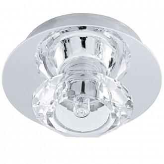 EGLO 91192 | Bantry7 Eglo stropné svietidlo 1x G9 chróm, krištáľ