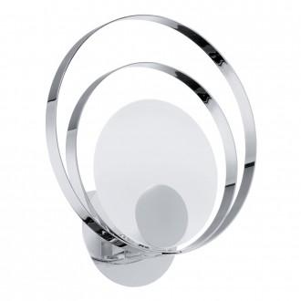 EGLO 91474 | Ringo3 Eglo stenové svietidlo 1x G9 chróm, saténový