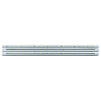 EGLO 92051 | Eglo-LS-Deco Eglo LED pásy svietidlo prepínač na vedení zásuvkové zospodu 3x LED 330lm 4000K biela