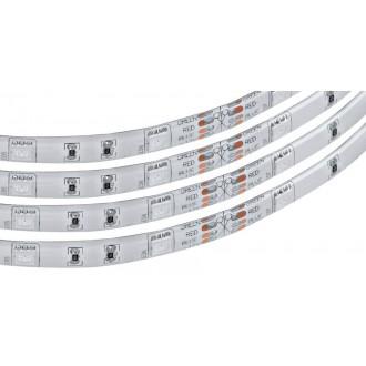 EGLO 92067 | Eglo-LS-Flex-IP Eglo LED pásy RGB svietidlo diaľkový ovládač regulovateľná intenzita svetla, meniace farbu 1x LED 600lm RGBK IP44 biela