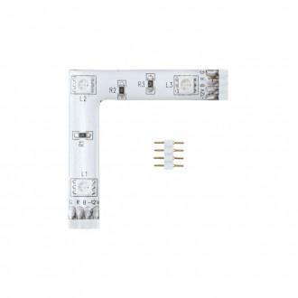 EGLO 92313 | Eglo_LS_Module Eglo LED pásy RGB svietidlo meniace farbu 1x LED RGBK biela