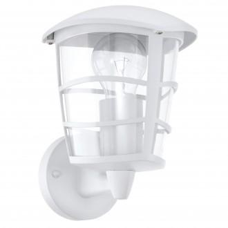 EGLO 93094   Aloria Eglo rameno stenové svietidlo 1x E27 IP44 biela, priesvitná