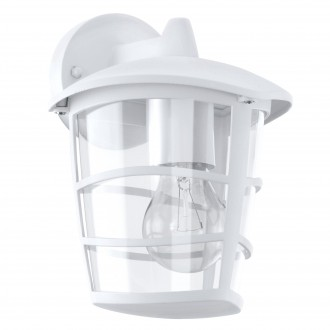EGLO 93095   Aloria Eglo rameno stenové svietidlo 1x E27 IP44 biela, priesvitná