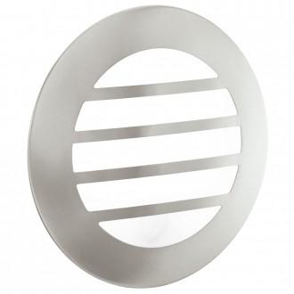 EGLO 93267 | City2_LED Eglo stenové, stropné svietidlo 1x GX53 IP44 zušľachtená oceľ, nehrdzavejúca oceľ, biela