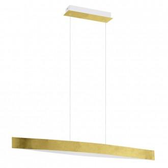 EGLO 93341 | Fornes Eglo visiace svietidlo 1x LED 1800lm 3000K zlatý, biela