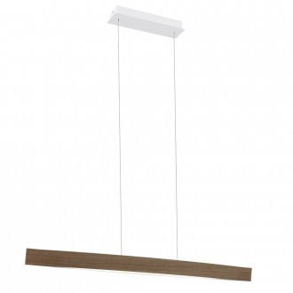 EGLO 93342 | Fornes Eglo visiace svietidlo 1x LED 1800lm 3000K dub, biela