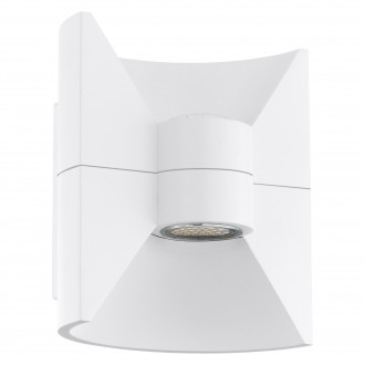 EGLO 93367 | Redondo Eglo stenové svietidlo 2x LED 360lm 3000K IP44 biela