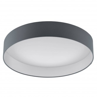 EGLO 93397 | Palomaro Eglo stropné svietidlo 1x LED 2100lm 3000K biela, antracit