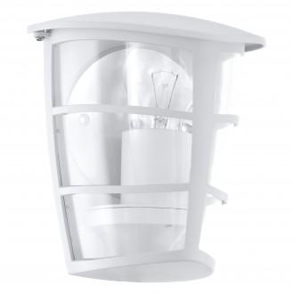 EGLO 93403   Aloria Eglo rameno stenové svietidlo 1x E27 IP44 biela, priesvitná